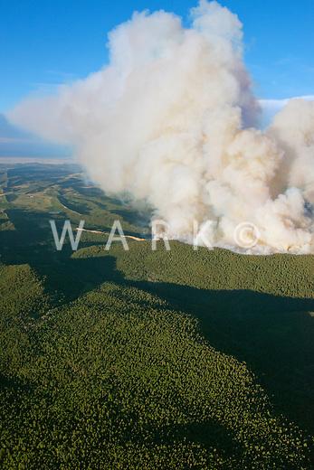 East Peak wildfire near LaVeta, Colorado.  June 2013