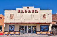 The Rangra movie theater in Alpine Texas.