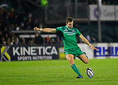 4th November 2017, Galway Sportsground, Galway, Ireland; Guinness Pro14 rugby, Connacht versus Cheetahs; Craig Ronaldson with a kick for Connacht