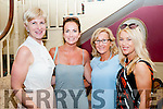 Writers Week : Television presenter Lorraine Keane pictued with Aoife Hannon, Eilish Stack & Helen Halpin at the Listowel Arms Hotel on Saturday evening last.