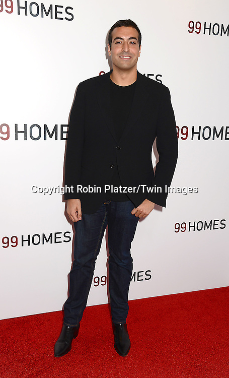 Mohammed Al Turki attends the New York Premiere of &quot;99 Homes&quot; on September 17, 2015 at AMC Loews Lincoln Square in New York City, New York, USA.<br /> <br /> photo by Robin Platzer/Twin Images<br />  <br /> phone number 212-935-0770