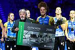 28.10.2018, TUI Arena, Hannover<br />Volleyball, Supercup, Siegerehrung<br /><br />Ehrung MVP / Wertvollste Spielerin - Kimberly Drewniok (#8 Schwerin)<br /><br />  Foto © nordphoto / Kurth