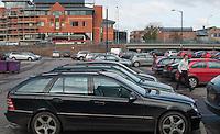 Town centre car park, Guildford, Surrey.