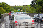 Roadworks on Listowel Bridge are causing traffic delays.
