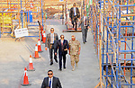 Egyptian President Abdel Fattah al-Sisi visits the new administrative capital, in Cairo, Egypt, on October 11, 2017. Photo by Egyptian President Office