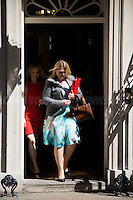 (From L to R) Elizabeth Truss MP (Lord Chancellor and Secretary of State for Justice) & Karen Bradley MP (Secretary of State for Culture, Media and Sport).<br />