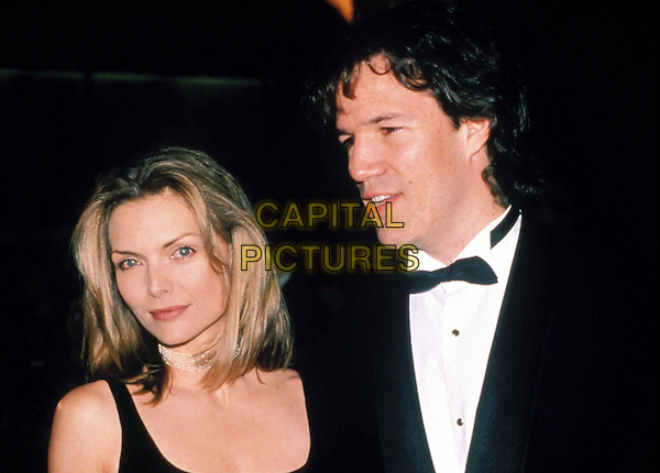 MICHELLE PFEIFFER & HUSBAND DAVID KELLEY..Ref: 043..headshot, portrait..www.capitalpictures.com..sales@capitalpictures.com..©Capital Pictures