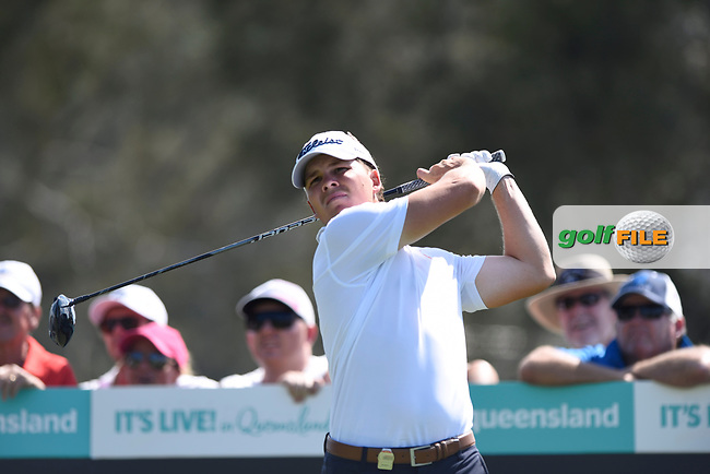 Jake Mcleod (NZL) during the 3rd round of the Australian PGA Championship, Royal Pines Resort Golf Course, Benowa, Queensland, Australia. 01/12/2018<br /> Picture: Golffile | Anthony Powter<br /> <br /> <br /> All photo usage must carry mandatory copyright credit (© Golffile | Anthony Powter)