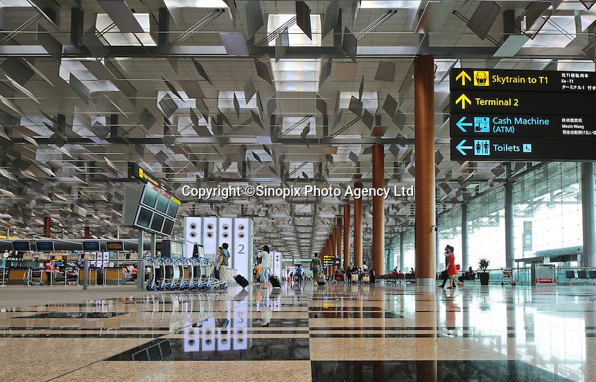 Changi airport, Terminal 3, Singapore, 13 August 2015.