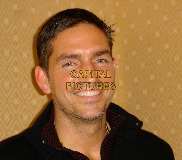 JIM CAVIEZEL.Photocall in the Brentwood Room at the Hyatt Century Plaza , USA. .October 29th, 2006 .Ref: AW .headshot portrait James. oprowww.capitalpictures.com.sales@capitalpictures.com.©Anita Weber/Capital Pictures.