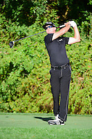 Brian Gay (USA) watches his tee shot on 3 during round 1 of the Honda Classic, PGA National, Palm Beach Gardens, West Palm Beach, Florida, USA. 2/23/2017.<br /> Picture: Golffile | Ken Murray<br /> <br /> <br /> All photo usage must carry mandatory copyright credit (&copy; Golffile | Ken Murray)