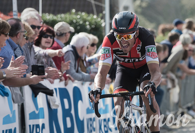 Greg Van Avermaet (BEL/BMC) fighting up the Taaienberg<br /> <br /> 101th Ronde Van Vlaanderen 2017 (1.UWT)<br /> 1day race: Antwerp &rsaquo; Oudenaarde - BEL (260km)