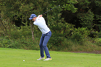 Oisin Quinlan (Galway Bay) on the 1st tee during the Connacht U12, U14, U16, U18 Close Finals 2019 in Mountbellew Golf Club, Mountbellew, Co. Galway on Monday 12th August 2019.<br /> <br /> Picture:  Thos Caffrey / www.golffile.ie<br /> <br /> All photos usage must carry mandatory copyright credit (© Golffile | Thos Caffrey)