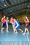 Action from the St Mary's basketball blitz in Castleisland Community Centre on Sunday   Copyright Kerry's Eye 2008