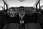 High angle dashboard view of a  2013 Buick Encore