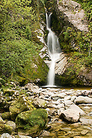 Dorothy Falls at Lake Kaniere near Hokitika - West Coast, New Zealand