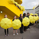 S'warm, National Youth Theatre Actors in Race to Save Honeybees, Flashmob-style performances on London's Southbank