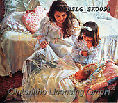 CHILDREN, KINDER, NIÑOS, paintings+++++,USLGSK0091,#K#, EVERYDAY ,Sandra Kock, victorian