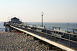 Fishing Pier on the beach in Ocean Grove,  New Jersey. Photo By Bill Denver/EQUI-PHOTO