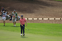 Tyrrell Hatton (ENG) on the 13th during the 1st round of the DP World Tour Championship, Jumeirah Golf Estates, Dubai, United Arab Emirates. 21/11/2019<br /> Picture: Golffile | Fran Caffrey<br /> <br /> <br /> All photo usage must carry mandatory copyright credit (© Golffile | Fran Caffrey)