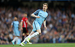 Kevin De Bruyne of Manchester City during the English Premier League match at The Etihad Stadium, Manchester. Picture date: April 27th, 2016. Photo credit should read: Lynne Cameron/Sportimage