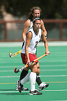 STANFORD, CA - AUGUST 19:  Stephanie Byrne of the Stanford Cardinal during Stanford's 4-1 exhibition win over the University of the Pacific on August 19, 2008 at the Varsity Field Turf in Stanford, California.