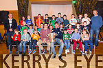 Paul Murphy and Kerry Minor Football Panel 2014 Ivan Parker presents awards to the Under 8's at the Churchill GAA awards in Ballyroe Hotel on Sunday