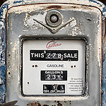 Gilbarco gasoline pump, Ghost town of Bradley, Calfiornia, along US 101<br /> <br /> 29.9 cents per gallon price