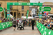 6th September 2017, Mansfield, England; OVO Energy Tour of Britain Cycling; Stage 4, Mansfield to Newark-On-Trent;  Start line for stage four at Mansfield town square