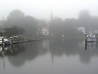A Wickford Foggy Morning