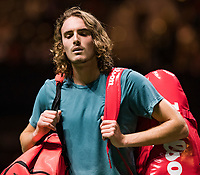 Rotterdam, The Netherlands, 13 Februari 2019, ABNAMRO World Tennis Tournament, Ahoy, Stefanos Tsisipas (GRE),<br /> Photo: www.tennisimages.com/Henk Koster
