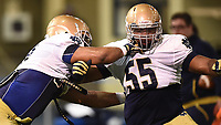 Defensive lineman Jonathan Bonner (55)