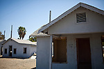Abandoned housing in Mendota, Calif., September 10, 2012.