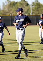 Evan Frederickson / Milwaukee Brewers 2008 Instructional League..Photo by:  Bill Mitchell/Four Seam Images