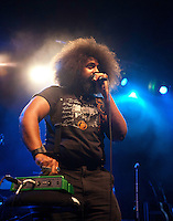 Reggie Watts performing at The Forum Theatre, Melbourne, 1 February 2011