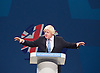 Conservative Party Conference <br /> Day 3<br /> 1st October 2013 <br /> Manchester Central, Manchester, Great Britain <br /> <br /> Boris Johnson <br /> keynote speech <br /> <br /> <br /> Photograph by Elliott Franks