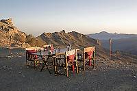 Mountain camp - Jebel Akhtar, Oman