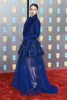 Lilly Collins<br /> arriving for the BAFTA Film Awards 2019 at the Royal Albert Hall, London<br /> <br /> ©Ash Knotek  D3478  10/02/2019