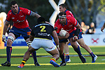 NELSON, NEW ZEALAND - OCTOBER 26: Mitre 10 Cup Final Tasman v Wellington game on October 26 at Trafalgar Park 2019 in Nelson, New Zealand. (Photo by:  Shuttersport Limited)