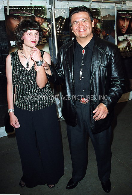 "Roger Willie and wife arrive at the New York premiere of ""Windtalkers."" New York, June 6, 2002. Please byline: Alecsey Boldeskul/NY Photo Press.   ..*PAY-PER-USE*      ....NY Photo Press:  ..phone (646) 267-6913;   ..e-mail: info@nyphotopress.com"
