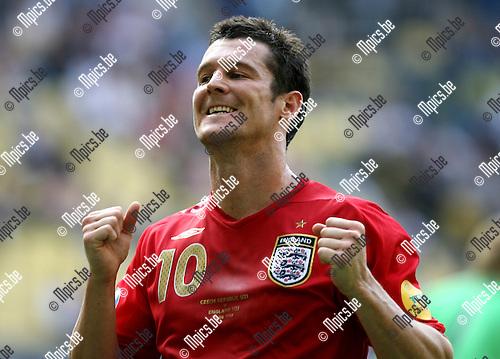 UEFA U21 Czech Republic - England 11-06-2007..David Nugent (England)