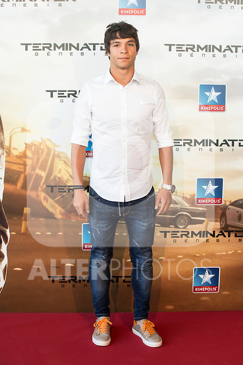 XXX attend to the premiere of Terminator Genesis at Kinepolis Cinema in Madrid, Spain. July 08, 2015.<br />  (ALTERPHOTOS/BorjaB.Hojas)