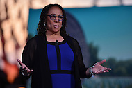Washington, DC - May 28, 2016: Award winning actress S. Epatha Merkerson presents a monologue dedicated to Paula Davis and her son, who was killed in action in Afghanistan, at the National Memorial day concert dress rehearsal on the west lawn of the U.S. Capitol in the District of Columbia, May 28, 2016.  (Photo by Don Baxter/Media Images International)