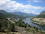 Columbia River Valley near Castlegar and Genelle, BC<br />