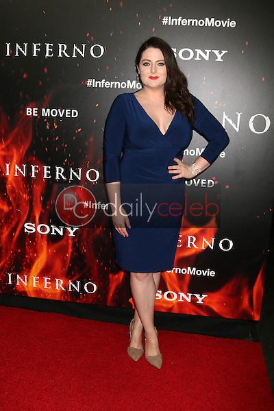 "Lauren Ash<br /> at the ""Inferno"" Los Angeles Premiere, DGA, Los Angeles, CA 10-25-16<br /> David Edwards/DailyCeleb.com 818-249-4998"