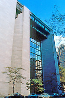 Kevin Roche: Ford Foundation, New York 1967. 42nd St. entrance.
