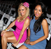 LOS ANGELES, CA, USA - MARCH 12: Bridget Marquardt, Loreen Hwang at the Style Fashion Week Los Angeles 2014 7th Season - Day 4 held at L.A. Live Event Deck on March 12, 2014 in Los Angeles, California, United States. (Photo by Xavier Collin/Celebrity Monitor)