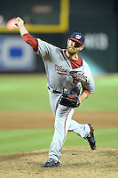 Washington Nationals pitcher Ryan Mattheus (52) during a game against the Arizona Diamondbacks at Chase Field on September 29, 2013 in Phoenix, Arizona.  Arizona defeated Washington 3-2.  (Mike Janes/Four Seam Images)