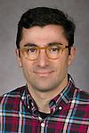 Filipo Sharevski, Associate Professor, College of Computing Digital Media, DePaul University, is pictured in a studio portrait Thursday, February 23, 2017. (DePaul University/Jeff Carrion)