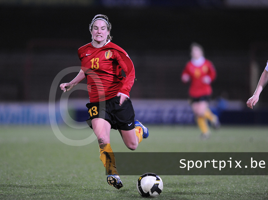 Belgium - Czech Republic : Kristien Elsen.foto DAVID CATRY / Vrouwenteam.be